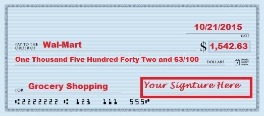 Learning how to write a check? This six step guide, with pictures, is perfect to help you learn how to fill out a check. Money can be complicated, but my personal finance website is here to help you learn even the most basic money lessons.